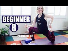 BEGINNER YOGA #8 OF 8 // TOTAL BODY FLOW TO OPEN HIPS - YouTube