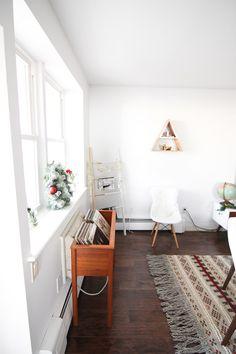 An Eclectic Vintage Mid-Century Living Room with Steffy Kuncman   west elm