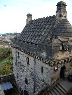 Detail, Edinburgh Castle