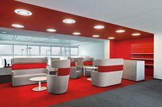 Deutsche Bahn AG, Berlin, Germany - Bene Office Furniture