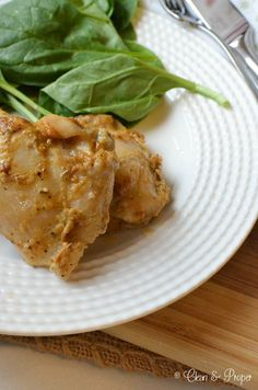 Gluten-Free Paleo Spicy Mustard-Glazed Chicken