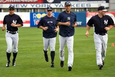 Ichiro, Brett Gardner, Jete and Youkilis    Brian Cashman's Return to Work, Clubhouse Salespeople, and Other Observations From Yankees Spring Training By Will Leitch, NY Mag    http://nymag.com/daily/intelligencer/2013/03/observations-from-yankees-spring-training.html