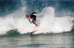 Bondi beach surfing, Sydney, Australia