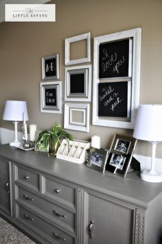 Furniture Redo Before and After | Once in place though, we were both so happy at the way this little ...
