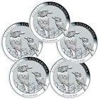 ❧★ 2017-P Australia $1 1 oz Silver Kookaburra Lot-5 Coins  (#Mint Cap) SKU... Consider http://ebay.to/2hF1faA