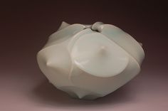 Jim Connell Carved Form Vase