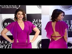WATCH Ileana D'Cruz beautiful in purple backless gown at Vogue Beauty Awards 2016.  #ileanadcruz #vogue #bollywoodnewsvilla