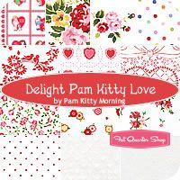 Delight Pam Kitty Love Fat Quarter Bundle Pam Kitty Morning for Lakehouse Dry Goods