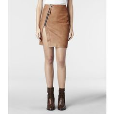 Split Lucille Leather Skirt - Google Search