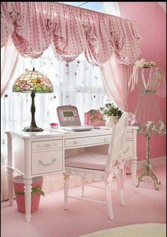 spaces chic home office bedroom