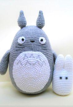 Totoro amigurumi crochet pattern