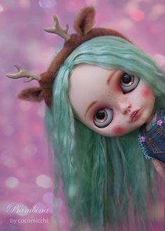 https://flic.kr/p/rASKRS   Bambina is back!   loving her new aqua green alpaca soft hair. she still thinks about deers and inseparable Petita!