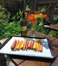 Avanti Cafe Musings: Salt Roasted Organic Carrots :: An Free Style Avan...