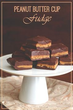 Best Low Carb Chocolate Peanut Butter Cup Fudge Recipe | All Day I Dream About Food