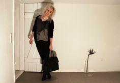 Black Swan - Black Swan t-shirt and cardigan - #BlackCasual Chic#