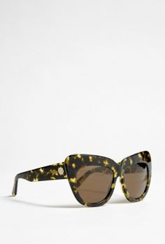 Chelsea Leopard Cat Eye Sunglasses by House Of Harlow 1960