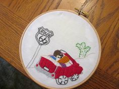 Embroidery Hoopla Round 10 - Places - GALLERY - ORGANIZED CRAFT SWAPS by pinkmichk