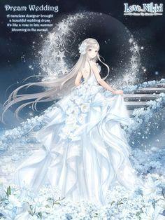 Love Nikki-Dress UP Queen. Come to play Love Nikki, a dressing up. Queen Anime, Anime Princess, Anime Angel Girl, Anime Girls, Queen Outfit, Queen Dress, Most Beautiful Wedding Dresses, Nikki Love, Sailor Moon Manga