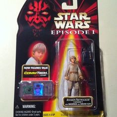 Star Wars Episode 1 Anakin Skywalker Tatooine Backpack Gun Comm Tech Hasbro 076281840741   eBay