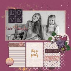 GingerScraps- The Friendliest Place in DigiScrap Land! Big Words, Paper Clip, Pattern Paper, Glitters, Tuesday, Layout, Kit, Amazing, Creative
