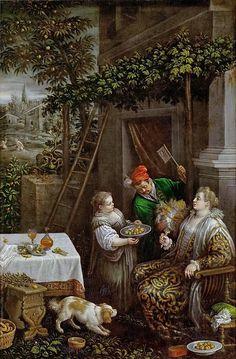 Leandro Bassano (1557-1622) -- July (Summer)