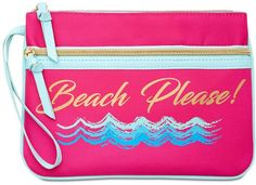 Celebrate Shop Beach Please Cooler-Compartment Wristlet A girl needs to carry a FEW things! affiliate