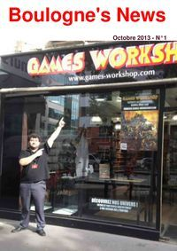 Boulogne's News - Games Workshop - Warhammers
