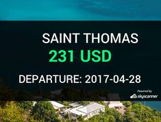 Flight from Phoenix to Saint Thomas by Spirit Airlines #travel #ticket #flight #deals   BOOK NOW >>>