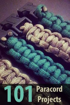 If you're a paracord enthusiast, then I have the ultimate article for you. @PrepperZine made a list of 101 paracord projects you need to check out.
