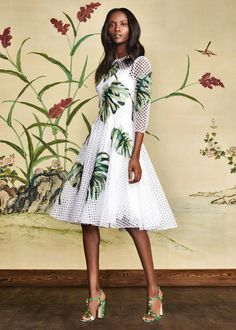 Discover the new Dolce & Gabbana Women's Botanical Garden Collection for Fall Winter 2016 2017 and get inspired. Bold Fashion, Fashion Beauty, Fashion Show, Womens Fashion, Fashion Design, Dolce And Gabbana 2017, Botanical Fashion, Tulle Dress, Types Of Fashion Styles