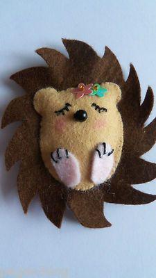 Image result for felt hedgehog