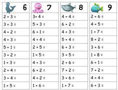 12 meilleures images du tableau tables d 39 addition mental - Tables de soustraction a imprimer ...