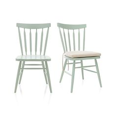 Willa Mint Side Chair in Dining Chairs | Crate and Barrel
