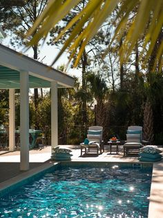 - HGTV Smart Home 2013: Sun Deck Pictures on HGTV TREX deck surrounding the pool