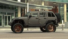 Jeep American Force Wheels
