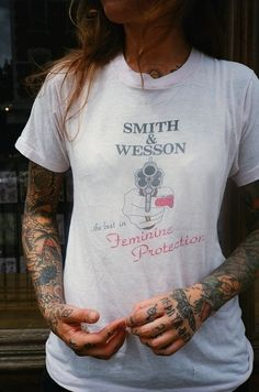 Smith & Wesson Vintage T-Shirt #70s #womanstshirt