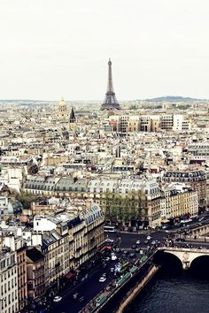 """Paris is not a city, it's a world"" – King Francois the I"