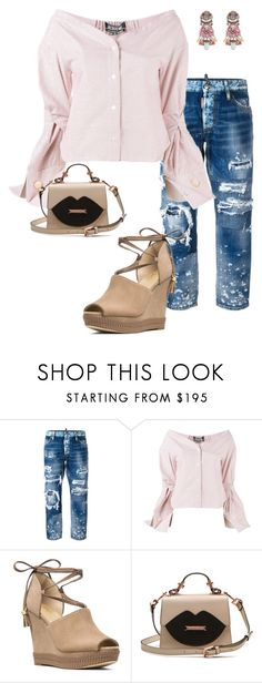 """Untitled #369"" by vickie-lyons-hall ❤ liked on Polyvore featuring Dsquared2, Jacquemus and MICHAEL Michael Kors"
