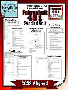 007 Fahrenheit 451 Character Analysis Graphic Organizers