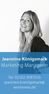 Jeannine Königsmark – Marketing Managerin