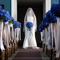 blauwe decoratie-kerk