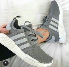 half off d6556 552bc Adidas Grey Shoes, Adidas Walking Shoes, Grey Adidas Nmd, Shoes Addidas,  Adidas