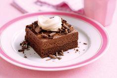 Chocolate mousse slice main image