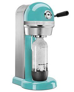 KitchenAid Aqua Sky Sparkling Beverage Maker