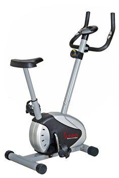 Upright Exercise Bike Indoor Stationary Cycle Trainer Fitness Gym Cardio Workout #SunnyHealthFitness