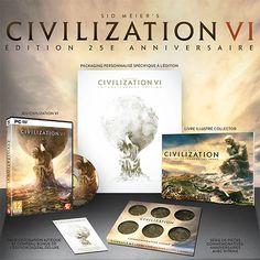 Sid Meier's Civilization VI Edition 25ème Anniversaire - 2K et Firaxis Games…