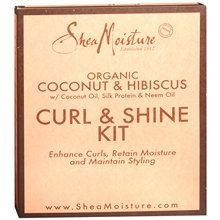 Shea Moisture Organic Curl  Shine Kit Coconut  Hibiscus 10 ea Quantity of 3 -- Visit the affiliate link Amazon.com on image for more details.