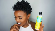 4C Wash and Go Tutorial w/Blueberry Bliss Curl Collection