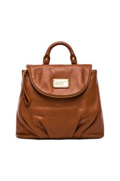 Obsessed with this bag, on sale for $349 // Marc by Marc Jacobs Classic Q Mariska Backpack in Smoked Almond | REVOLVE