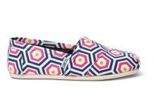 Bright Geometric Jonathan Adler for TOMS Womens Classics// IN LOVE